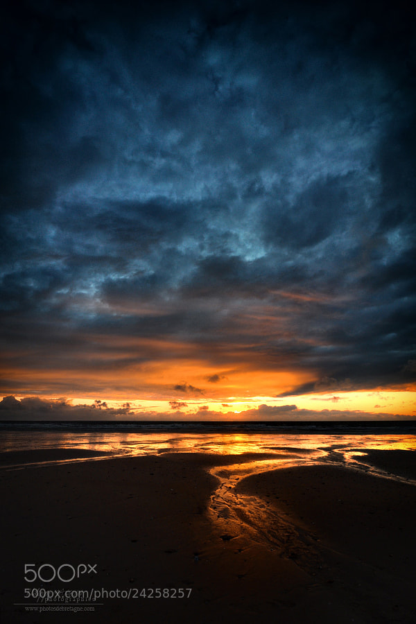 Photograph Vendée sunrise by Philippe MANGUIN on 500px