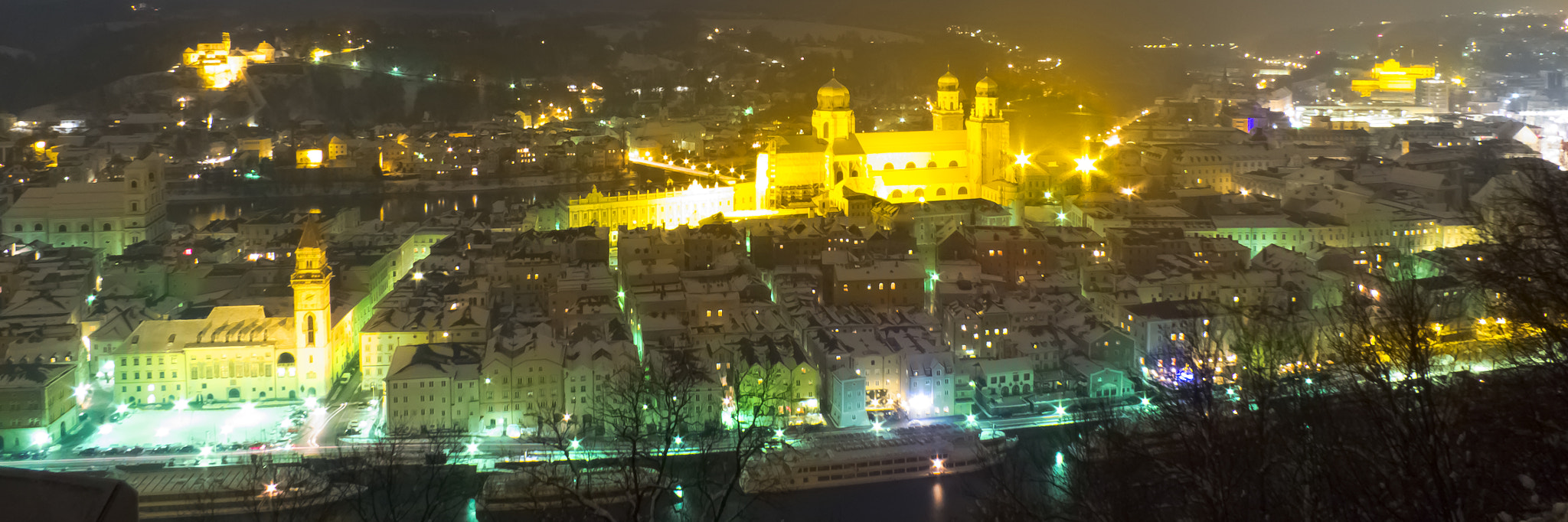 Photograph night panorama of passau by DHα Photography on 500px