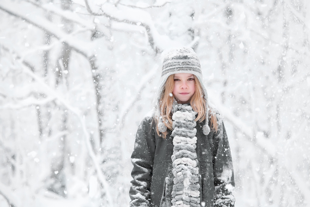 Photograph Be patient   (you could become a snowgirl) by Cath Schneider on 500px