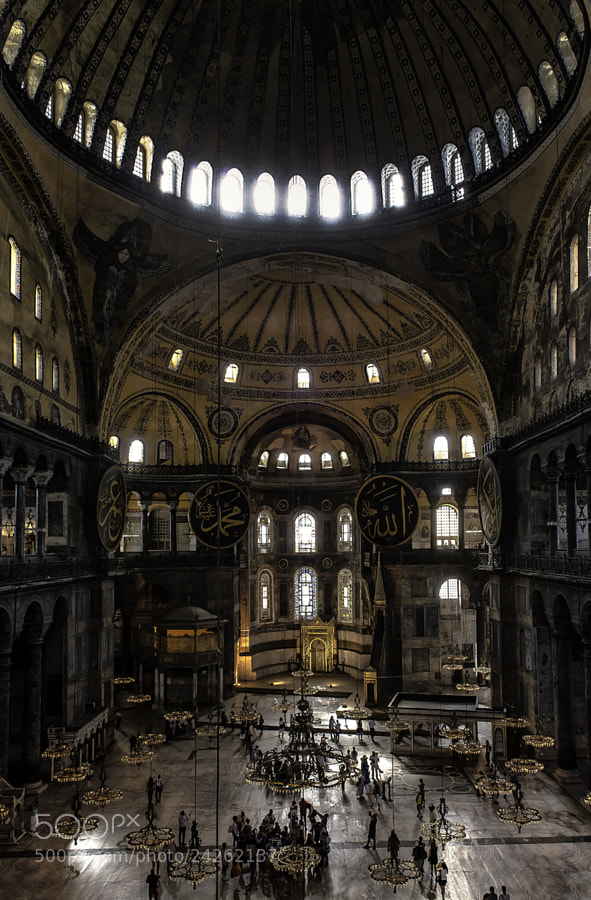 Photograph Hagia Sophia Museum by Luis Borges Alves on 500px