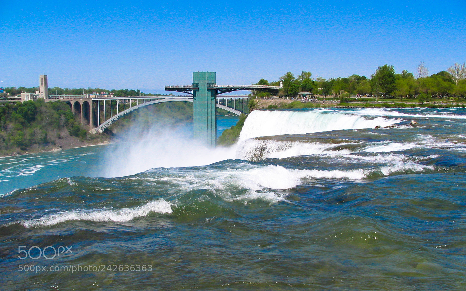 """Canon POWERSHOT S1 IS sample photo. """"A different angle niagara"""" photography"""