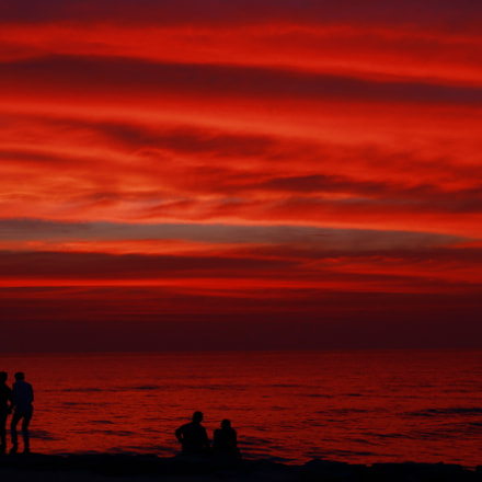 Red Horizon, Canon EOS 1200D, Canon EF 40mm f/2.8 STM