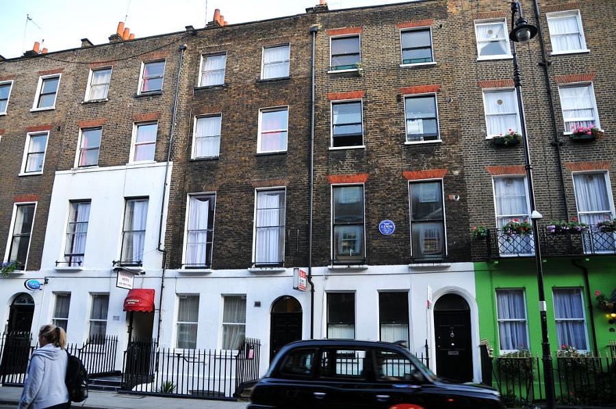 V. Lenin in London by Sandra  on 500px.com