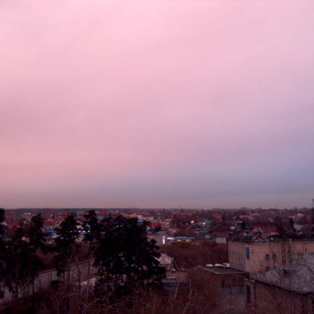 Sunset, Nikon COOLPIX L22
