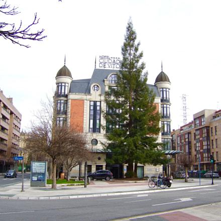 Hotel Ciudad de Vitoria., Fujifilm FinePix E900