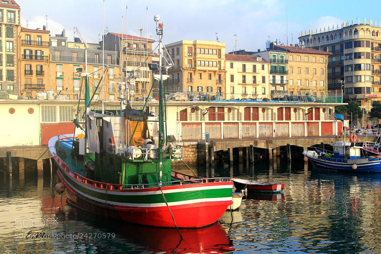Photograph En el puerto-San Sebastian by Edurne Marcos on 500px