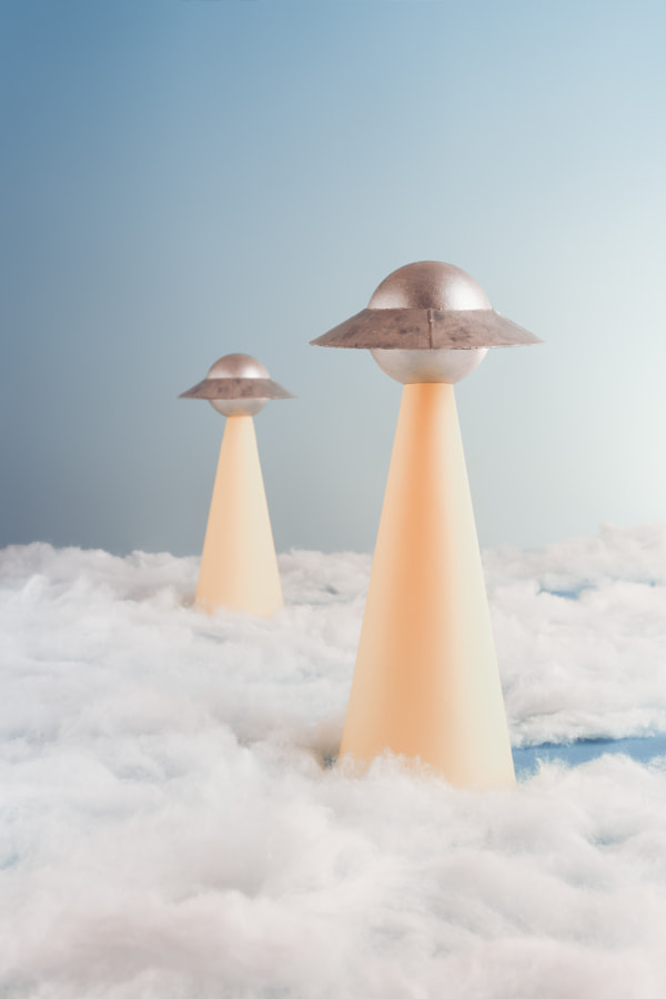 Ufo Beam and clouds by Hardi Saputra on 500px.com