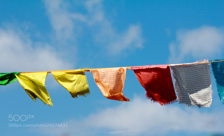 Photograph Tibetan Pray Flags by KimJ Trebble on 500px