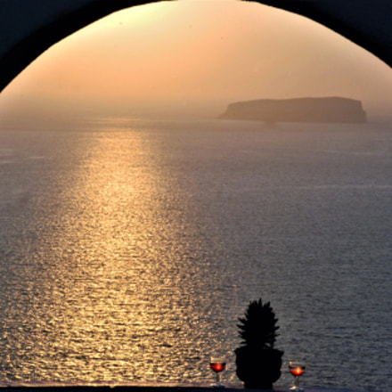 Arch sunset, Nikon D80, AF-S DX Zoom-Nikkor 18-135mm f/3.5-5.6G IF-ED