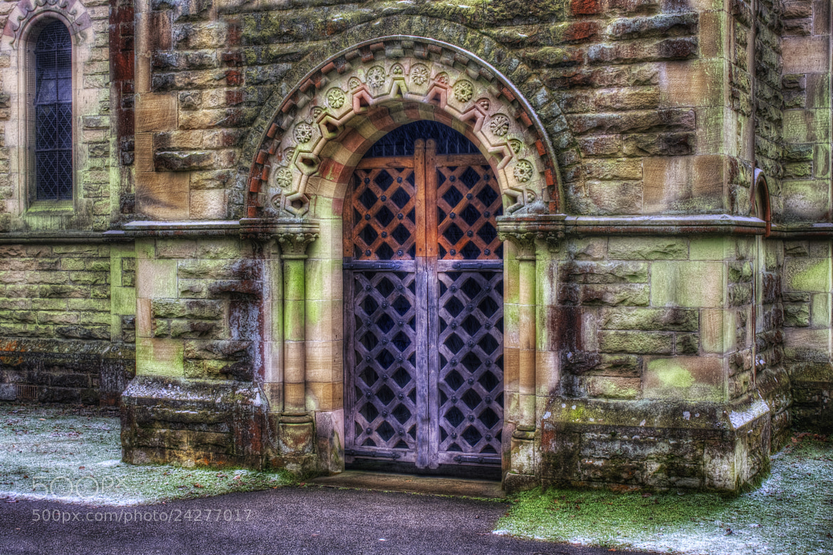 Photograph Church Doorway by Ian Mitchell on 500px
