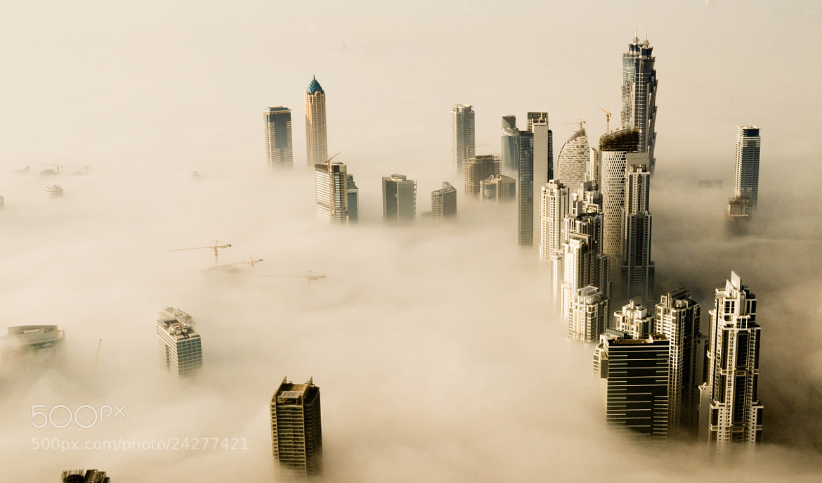 Photograph Downtown Dubai by Niaz Muhammed on 500px