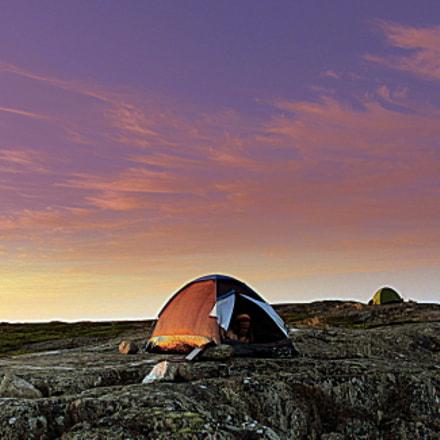 Sunset in Jurmo Island, Canon POWERSHOT SX520 HS