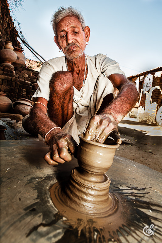 Photograph A day with the potter by sreeranj sreedhar on 500px
