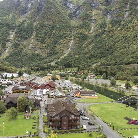 Pueblo de Flam. Noruega