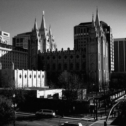 Temple square, Salt Lake, Canon POWERSHOT A510