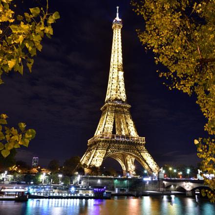 Eiffel Tower, Nikon D810, AF-S Nikkor 24mm f/1.8G ED