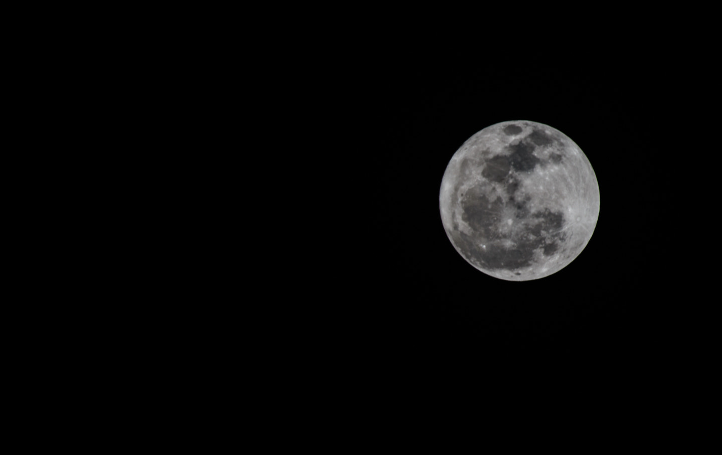 Photograph Just another shot of the moon by Preston Hutson on 500px