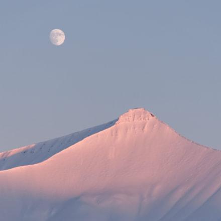 moonlight in Svalbard, Pentax K-5, smc PENTAX-DA 18-135mm F3.5-5.6 ED AL [IF] DC WR