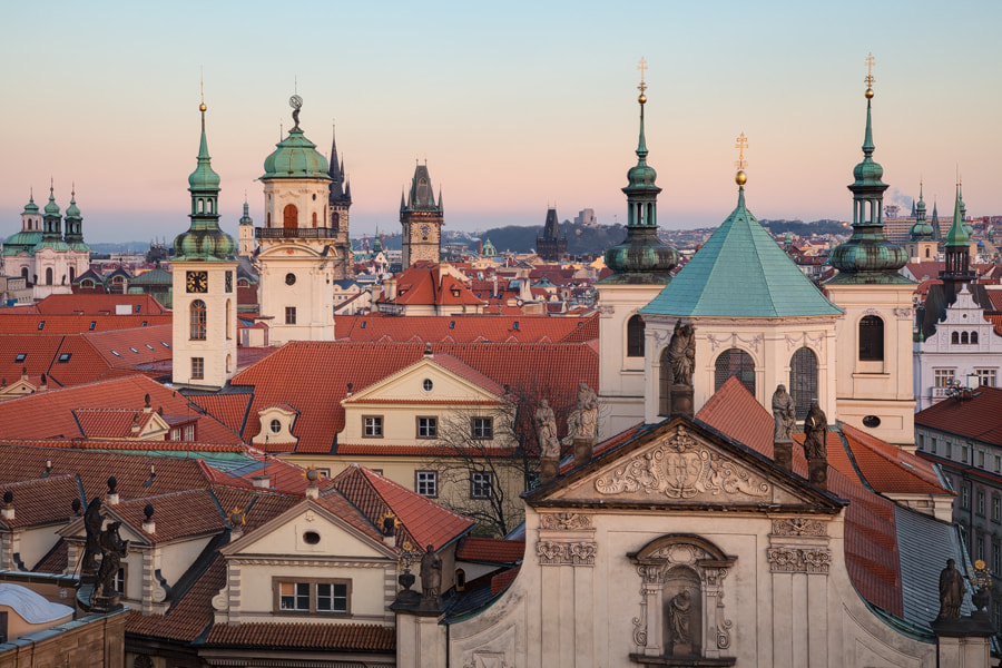 Photograph Prague - Towers by Michael  Breitung on 500px