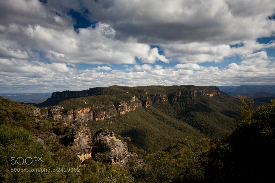 Photograph Boars Head at Narrowneck, Katoomba by Lorraine Creagh on 500px