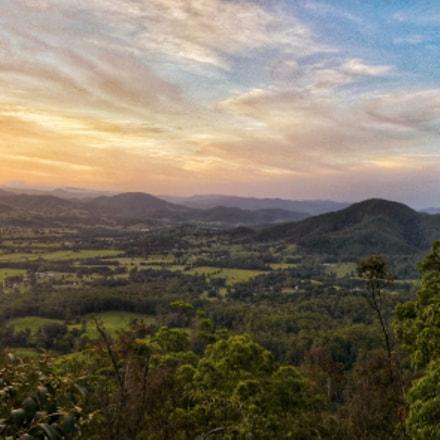 Sunset in the hills, Panasonic DMC-TZ80