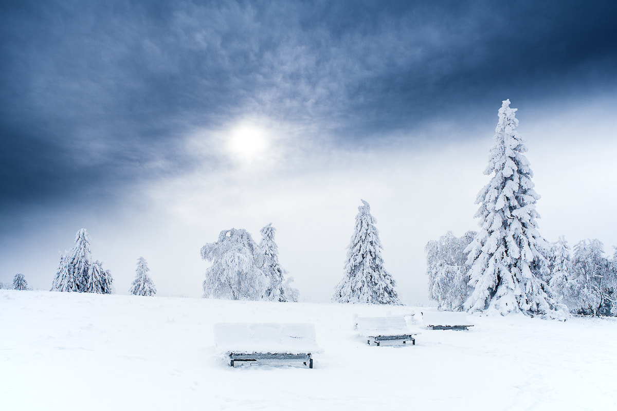 Photograph Winterlandschaft by Christian Fischer on 500px