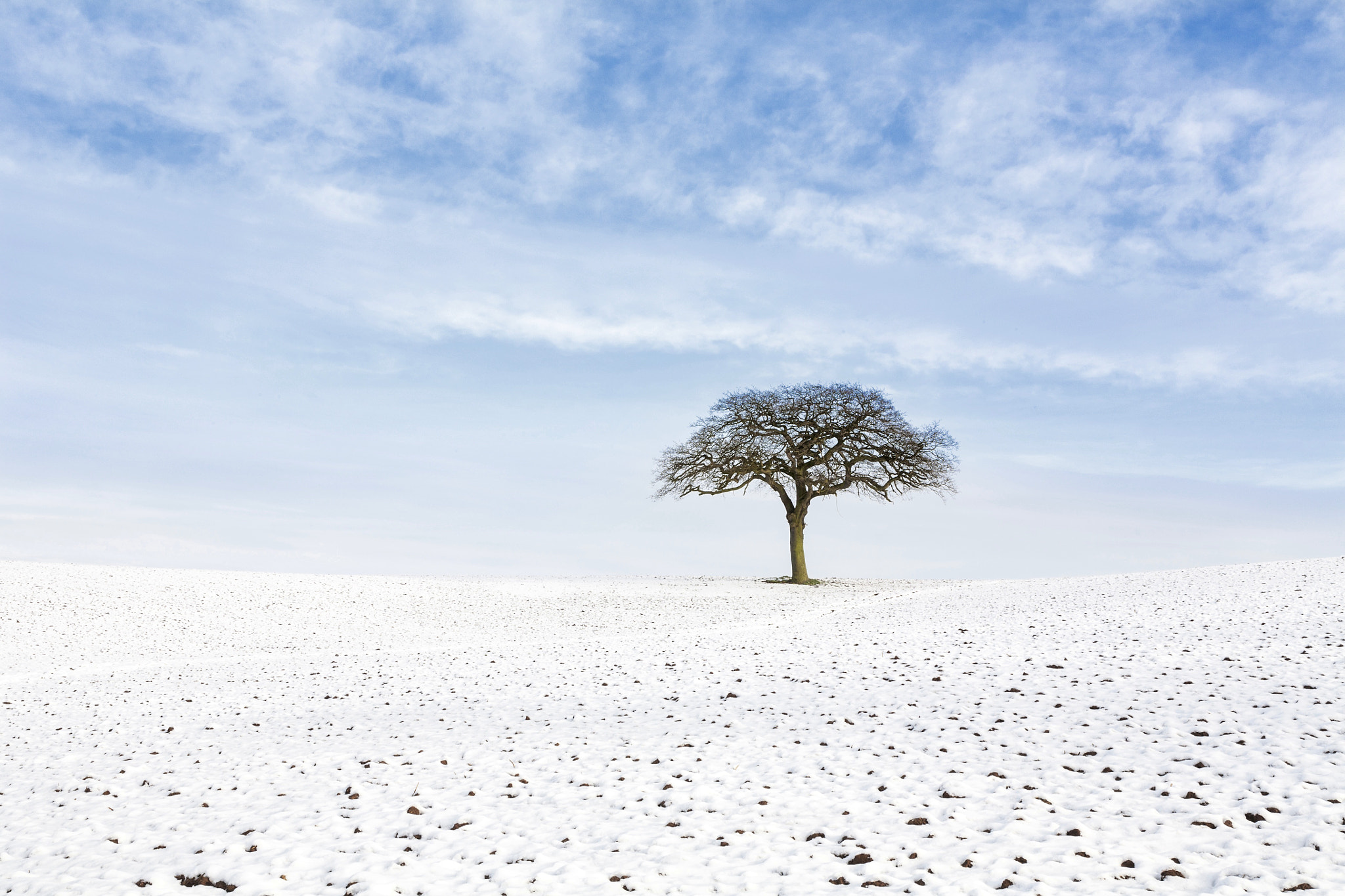 Photograph Winter on Old Hill by Mike Barber on 500px
