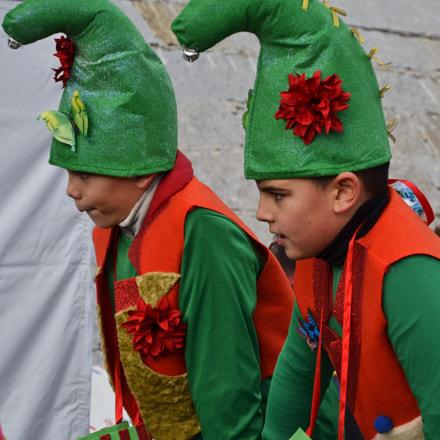 Cabalgata Navidad Clara Redondo, Nikon D3100, AF-S DX Zoom-Nikkor 18-55mm f/3.5-5.6G ED II