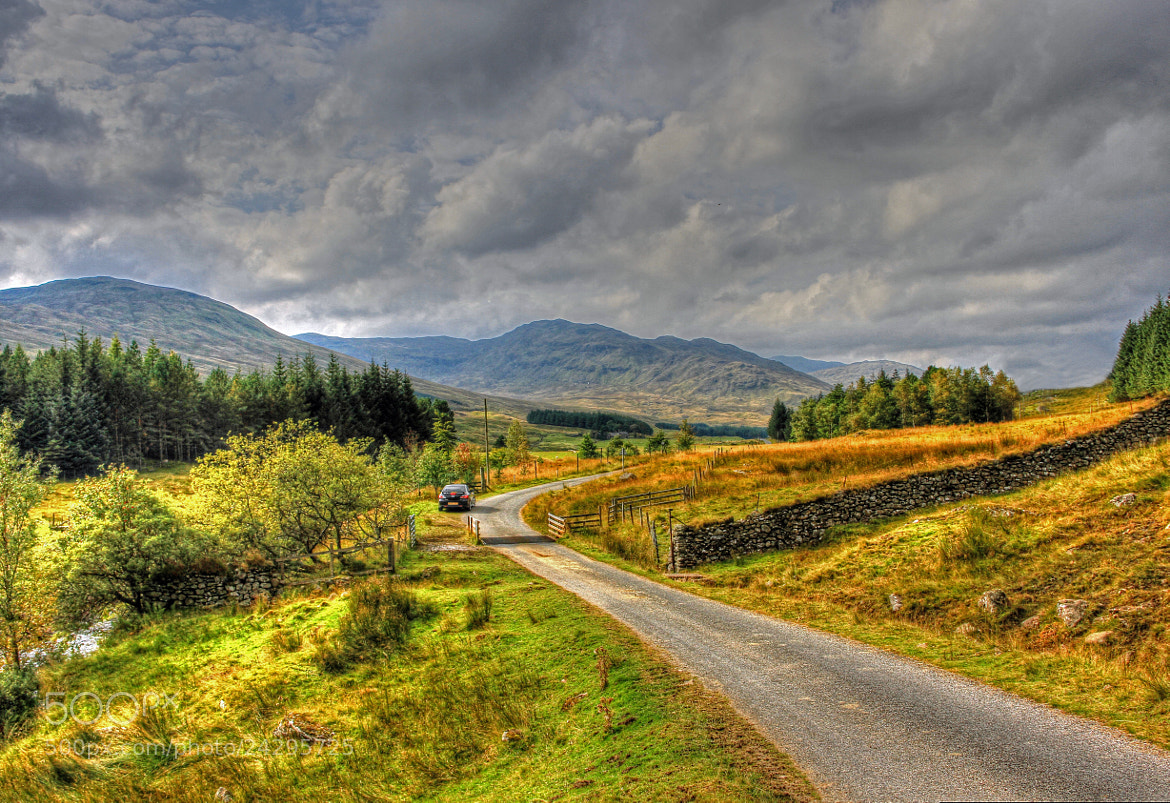 Photograph Day In Glen Lyon by Hilda Murray on 500px