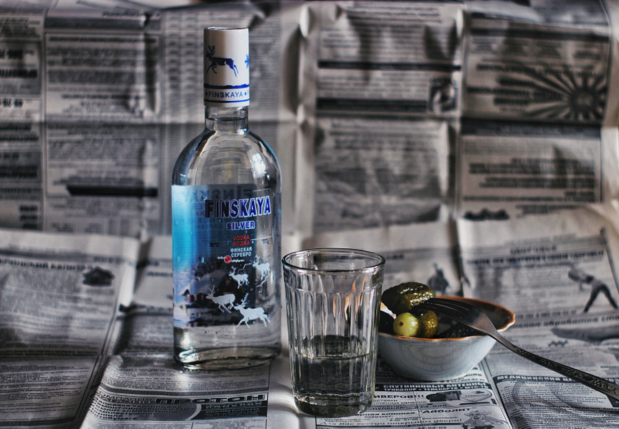 Vodka, автор — Alex Astarit на 500px.com