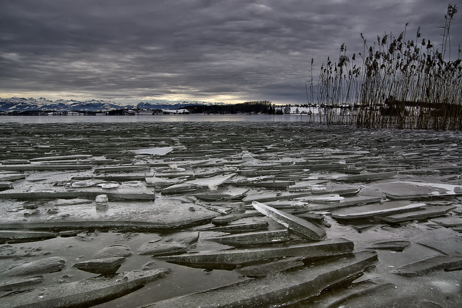 Photograph ice floes by Sandra Löber on 500px