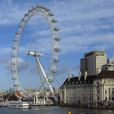 View from Westminster Bridge, Canon POWERSHOT SX410 IS