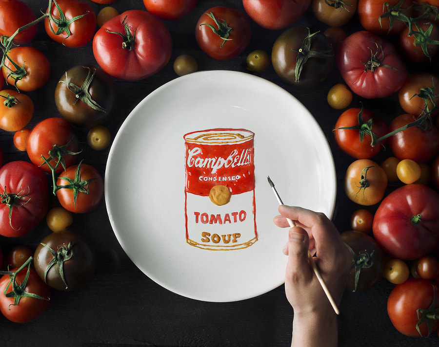 Tomato Campbell soup by Pavel Sablya on 500px.com