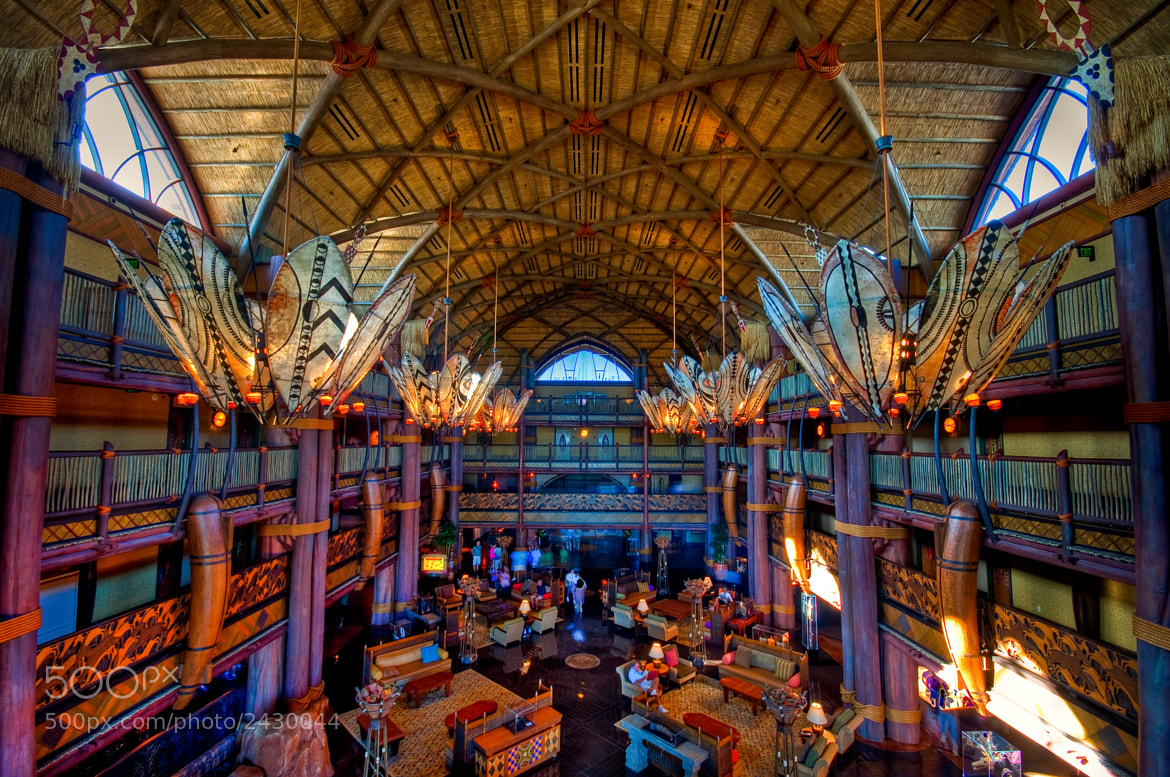 Photograph Jambo House Lobby by Jeff Hamm on 500px