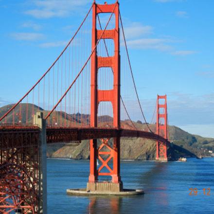 Golden Gate Bridge, Nikon COOLPIX S8100