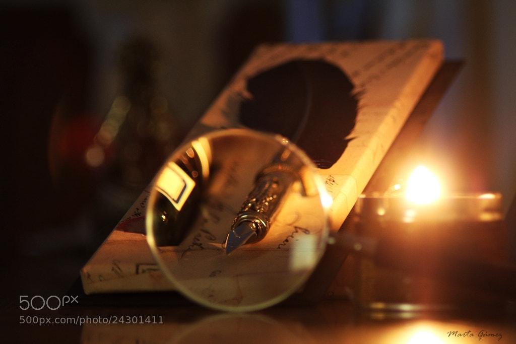 Photograph Magnifying glass by Marta Gámez Medina on 500px