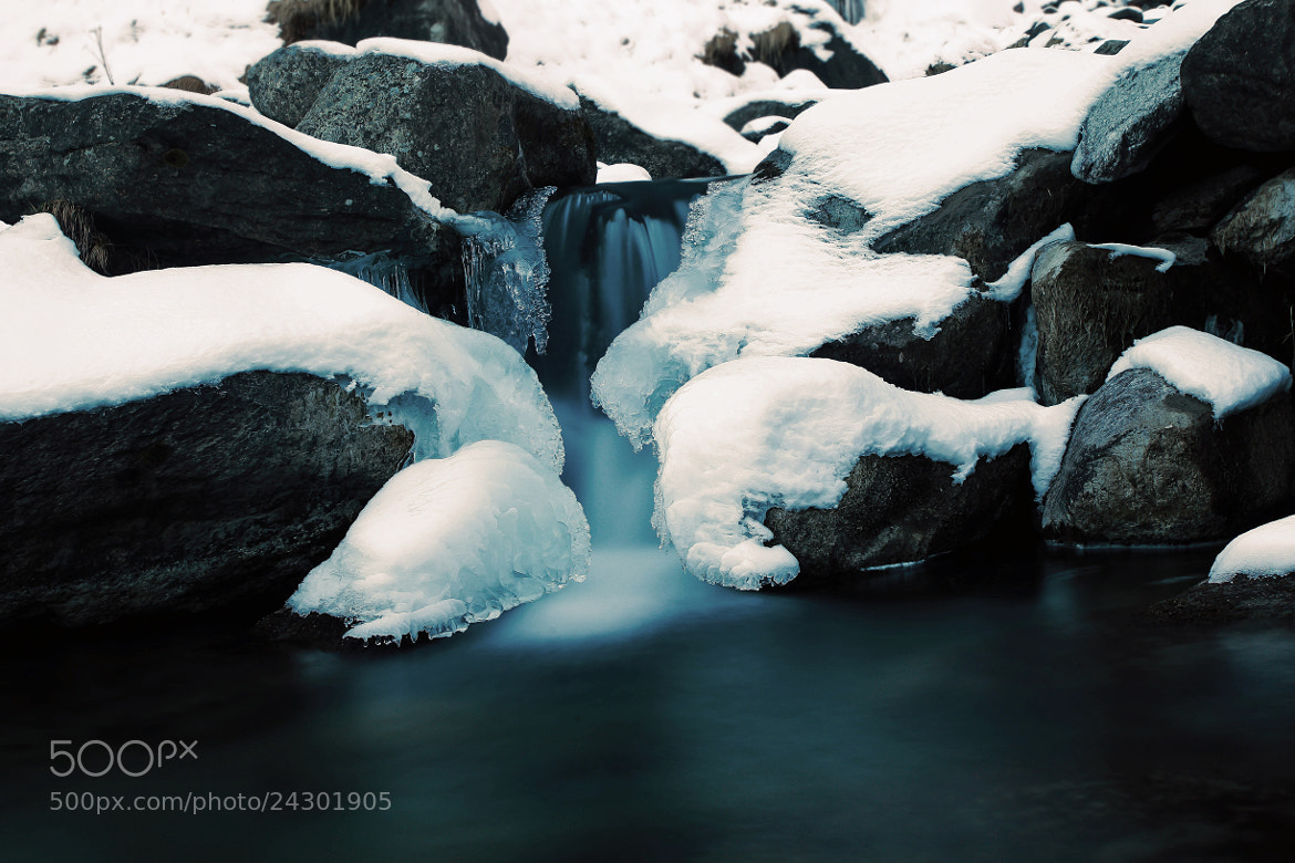 Photograph Ice-fall by Giamma Broilo on 500px