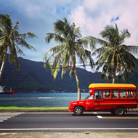 bus in American Samoa