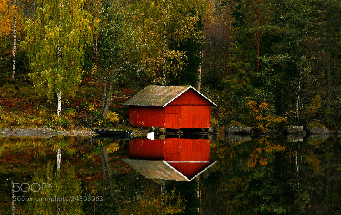 Photograph Old boathouse by J.A Kamfjord on 500px
