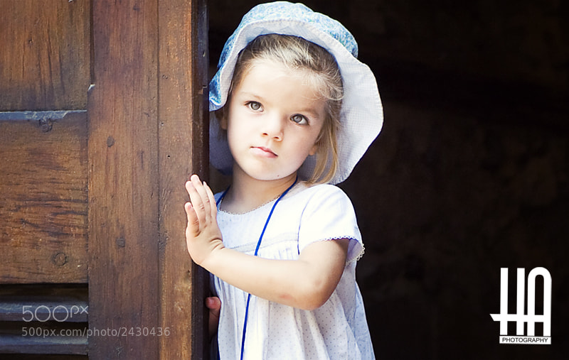 little cute girl