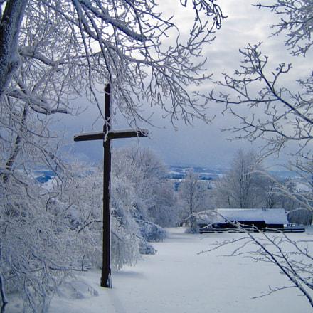 Faithful Rhoen-Mountains, Canon DIGITAL IXUS 40