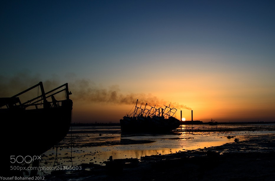 Photograph Kuwait -  Sunset at Doha Port by Yousef Bohamed on 500px