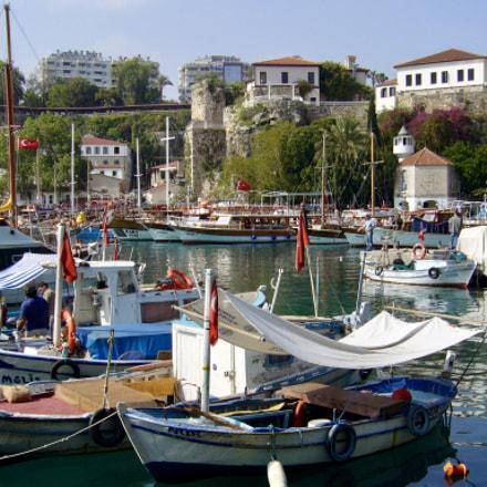 Antalya Harbour, Panasonic DMC-FX9
