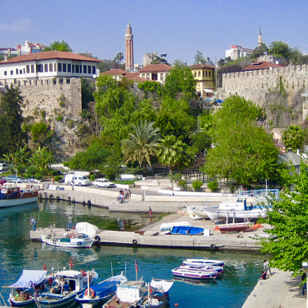 Old Antalya, Canon DIGITAL IXUS 40