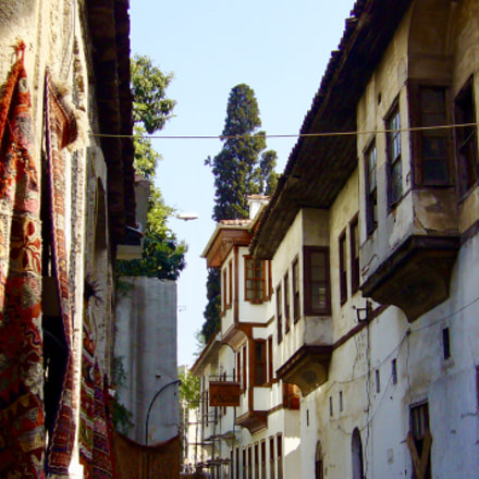 Old town street in, Panasonic DMC-FX9