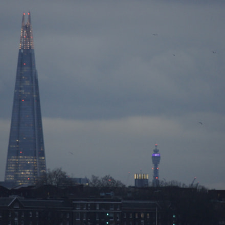 Shard of London, Sony DSLR-A450
