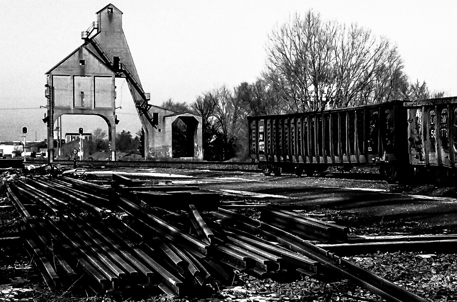 Photograph DeRailed in DeKalb v2 by PJ Resnick on 500px