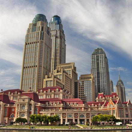 Tianjin Cityscape, Canon EOS 500D, Tamron 18-250mm f/3.5-6.3 Di II LD Aspherical [IF] Macro