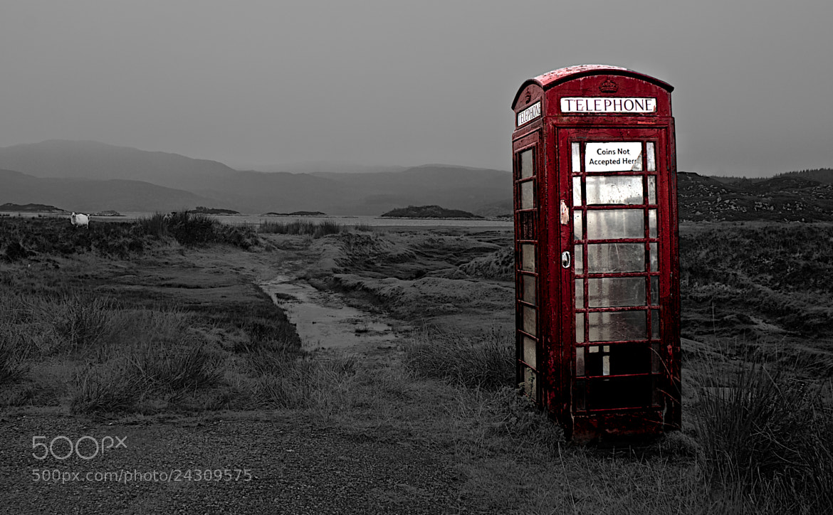 Photograph Still waiting for your call by Paul & Mhairi Carroll on 500px
