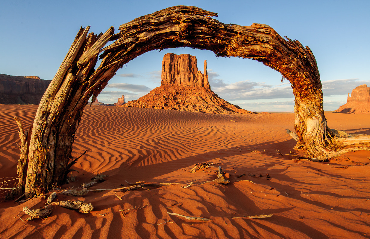 Photograph Arch Window to Monument Valley by Matthew Scott Cooper on 500px